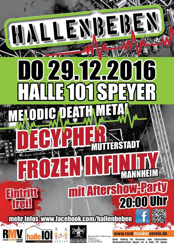 Frozen Infinity @ Halle 101 - Spires, Germany