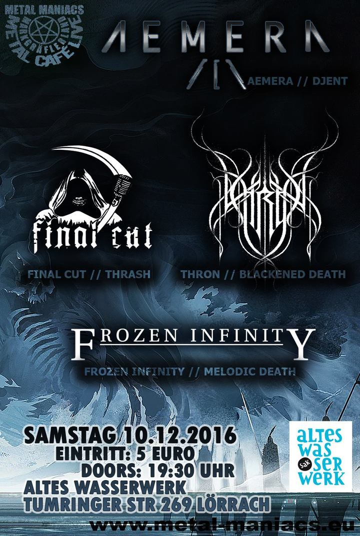 Frozen Infinity @ Metalcafé - Lörrach, Germany