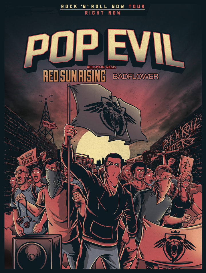Pop Evil @ House Of Blues - New Orleans, LA