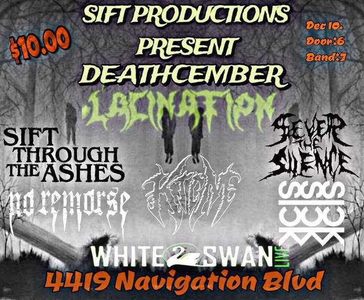 Lacination @ The White swan  - Houston, TX