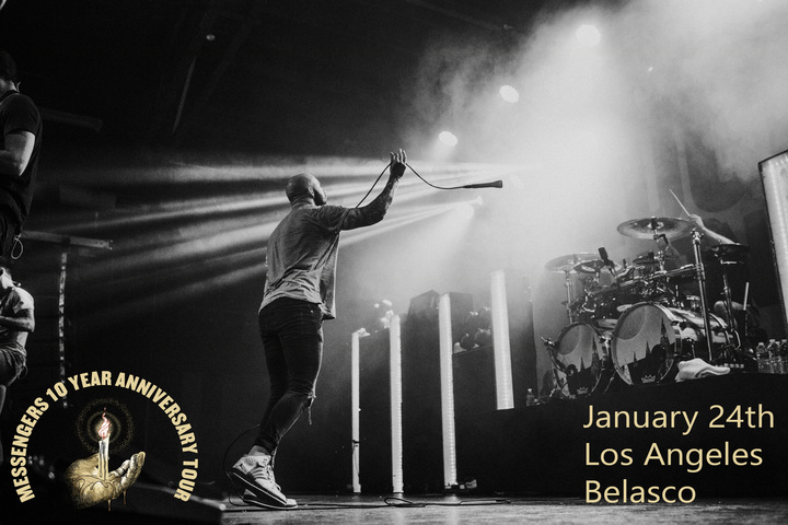 August Burns Red @ Belasco Theater - Los Angeles, CA