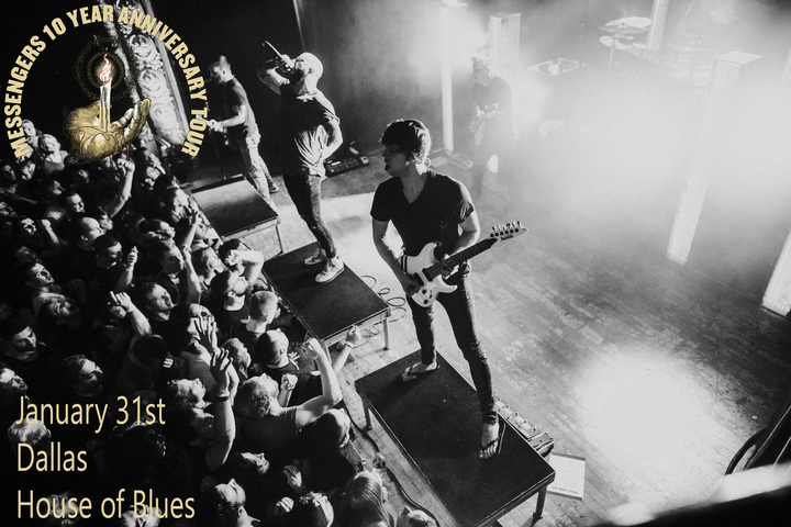 August Burns Red @ House of Blues - Dallas, TX