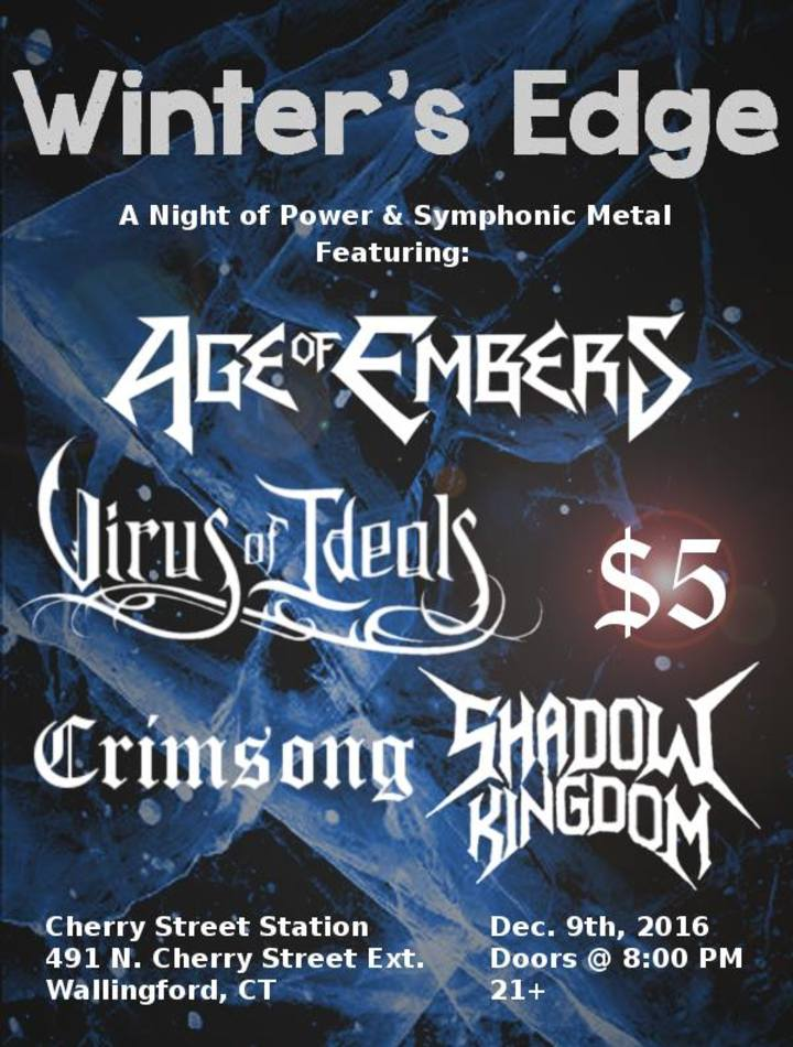 Age of Embers @ Cherry Street Station - Wallingford, CT