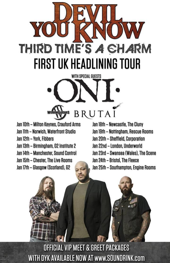 Oni @ The Cluny - Newcastle Upon Tyne, United Kingdom