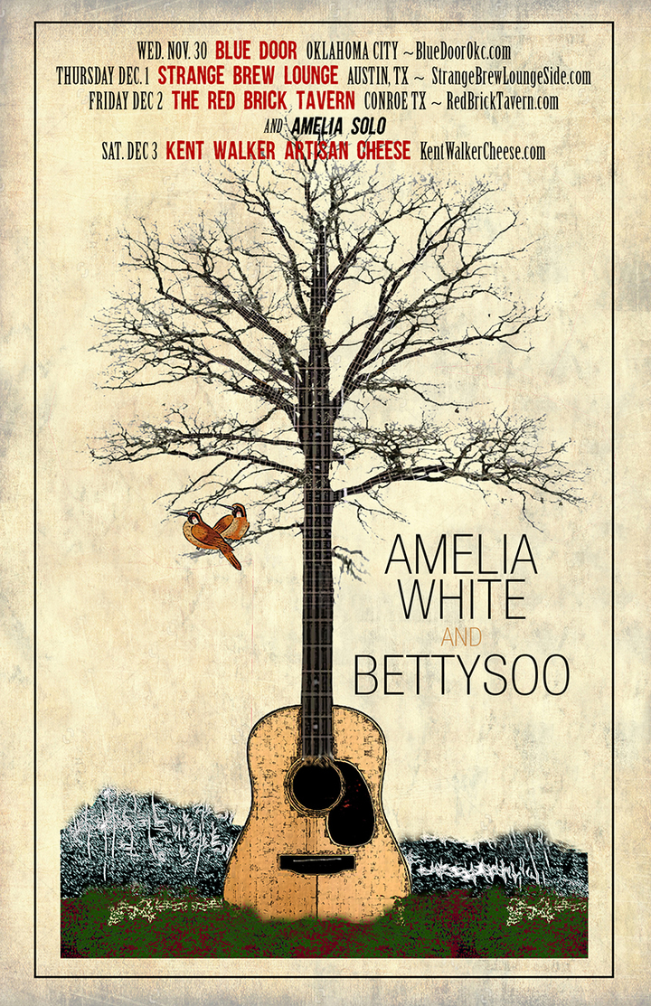 Amelia White @ The Blue Door - Oklahoma City, OK