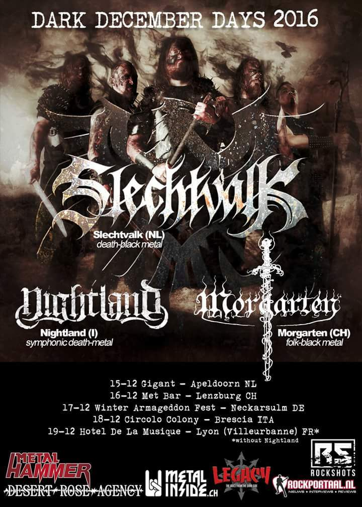 Nightland @ Winter Armageddon Fest 2016 - Neckarsulm, Germany