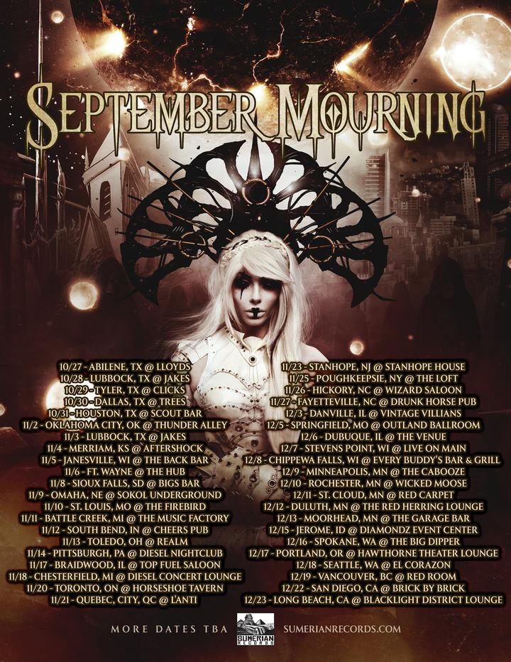 September Mourning @ Haven Lounge - Orlando, FL