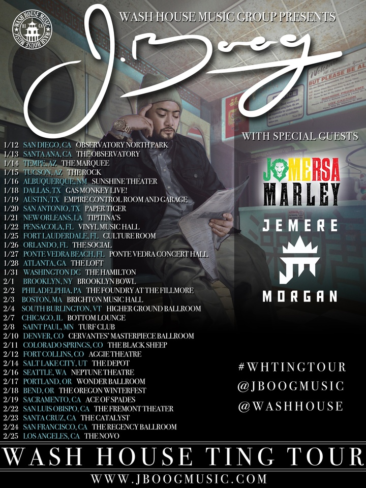 J Boog @ Gas Monkey Live! - Dallas, TX