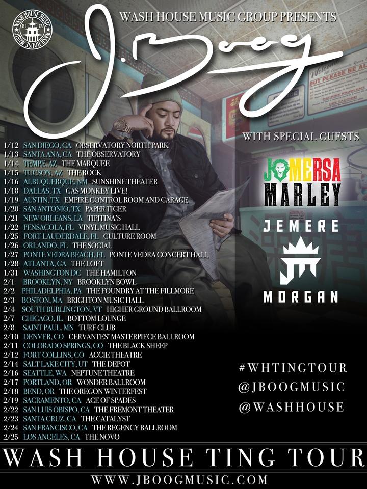 J Boog @ Vinyl Music Hall - Pensacola, FL