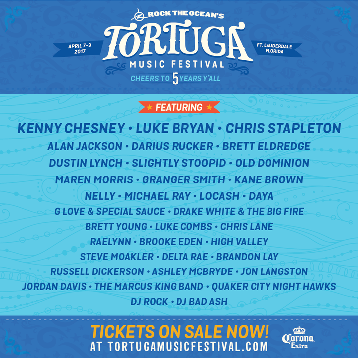 Delta Rae @ Tortuga Music Festival - Fort Lauderdale, FL