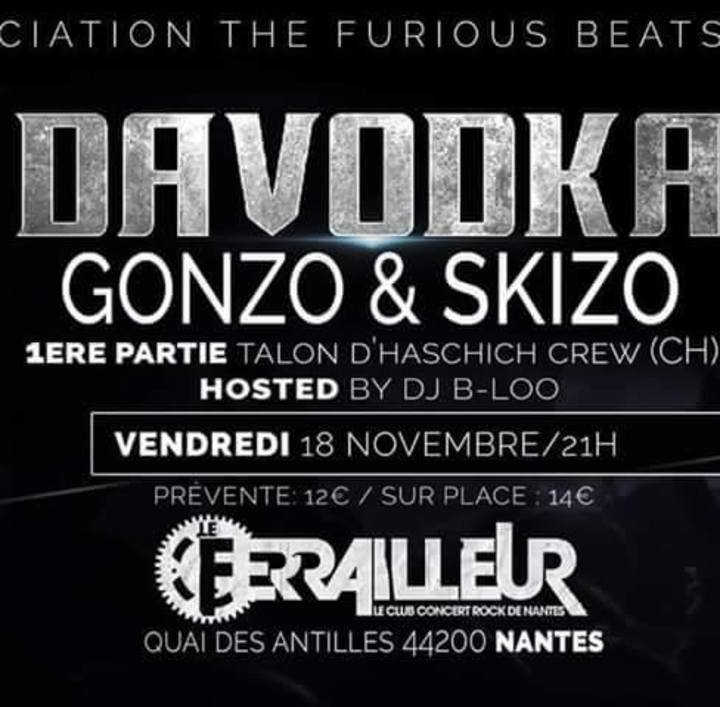 Gonzo & Skizo Tour Dates