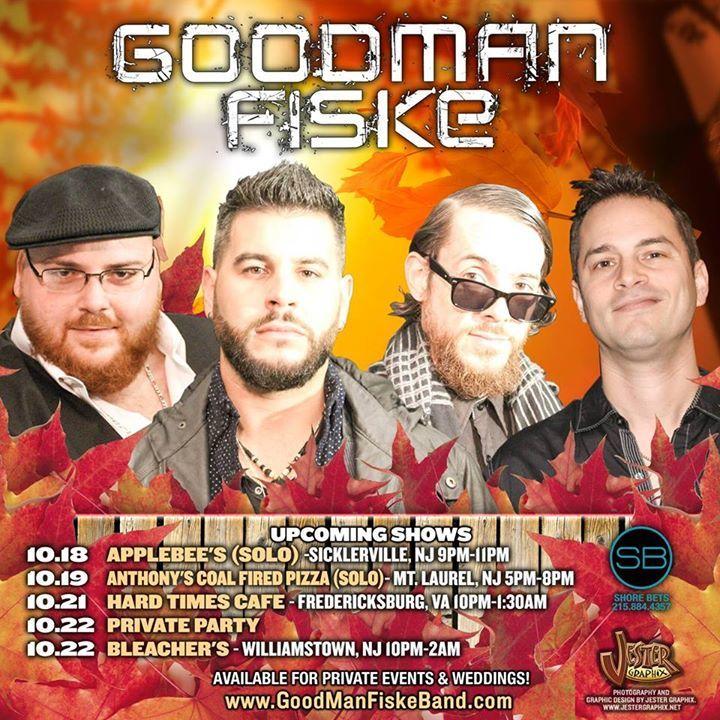 The GoodManFiske Band Tour Dates