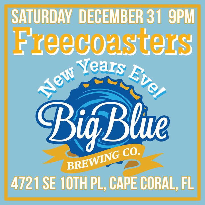 The Freecoasters @ Big Blue Brewing - Cape Coral, FL