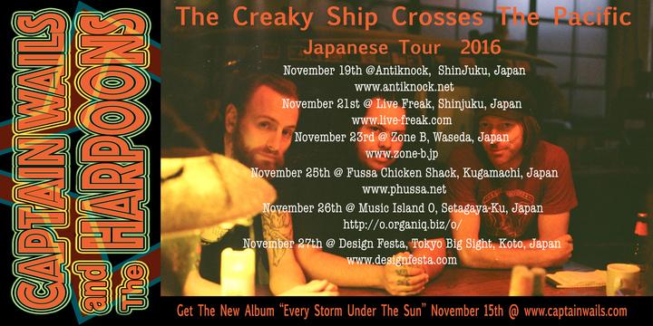 Captain Wails and The Harpoons @ Tokyo Big Sight - Tokyo, Japan