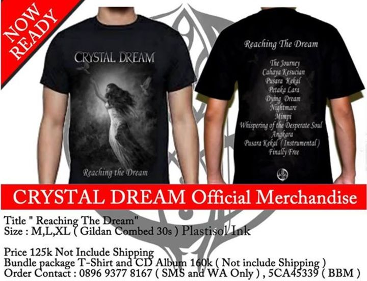 Crystal Dream Tour Dates
