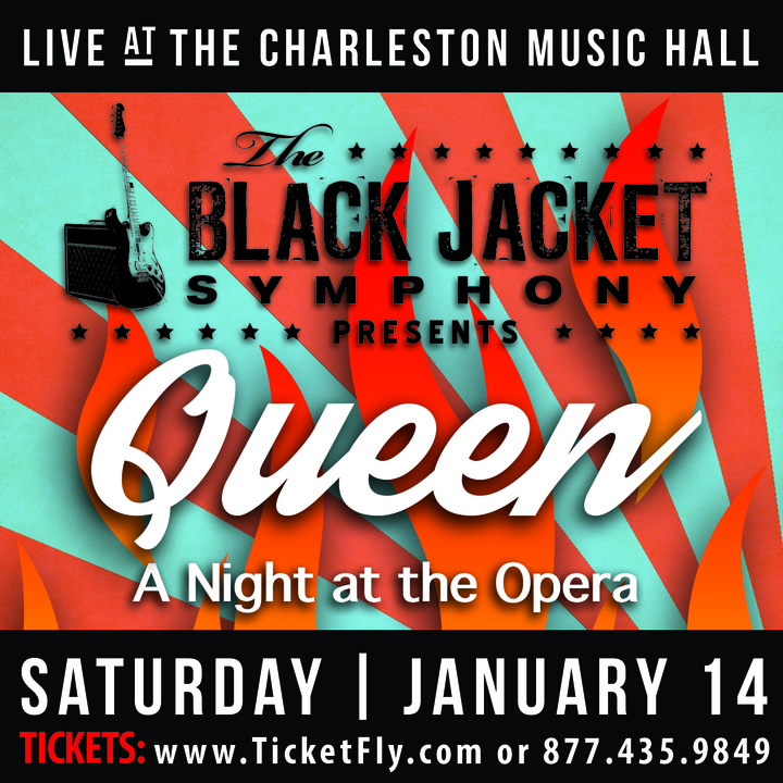 "The Black Jacket Symphony @ Charleston Music Hall - Performing Queen's ""A Night at the Opera"" - Charleston, SC"