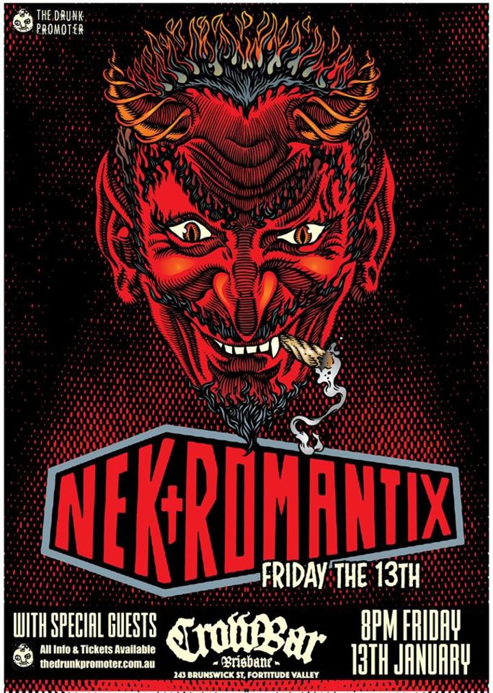 Nekromantix @ Crowbar - Fortitude Valley, Australia