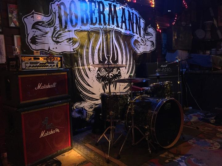 Dobermann @ Rock Bar - Konstanz, Germany
