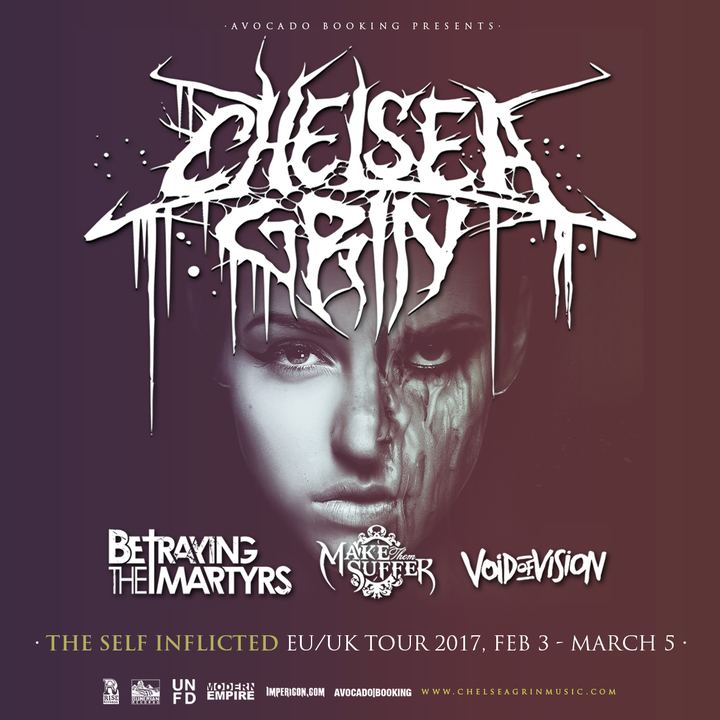 Chelsea Grin @ Sound Control - Manchester, United Kingdom