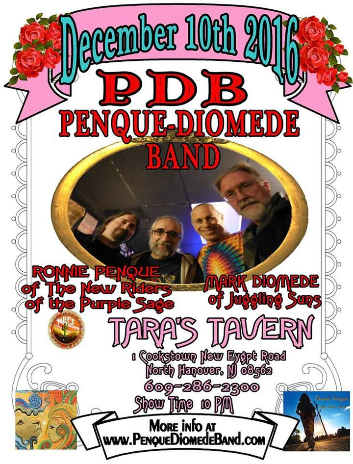 The Penque-Diomede Band @ Tara's Tavern - Wrightstown, NJ
