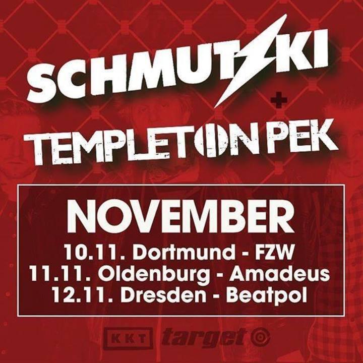 Templeton Pek Tour Dates