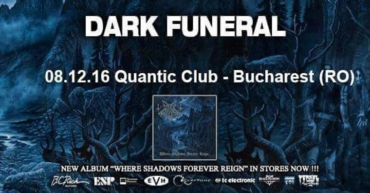Dark Funeral @ Quantic Club - Bucharest, Romania