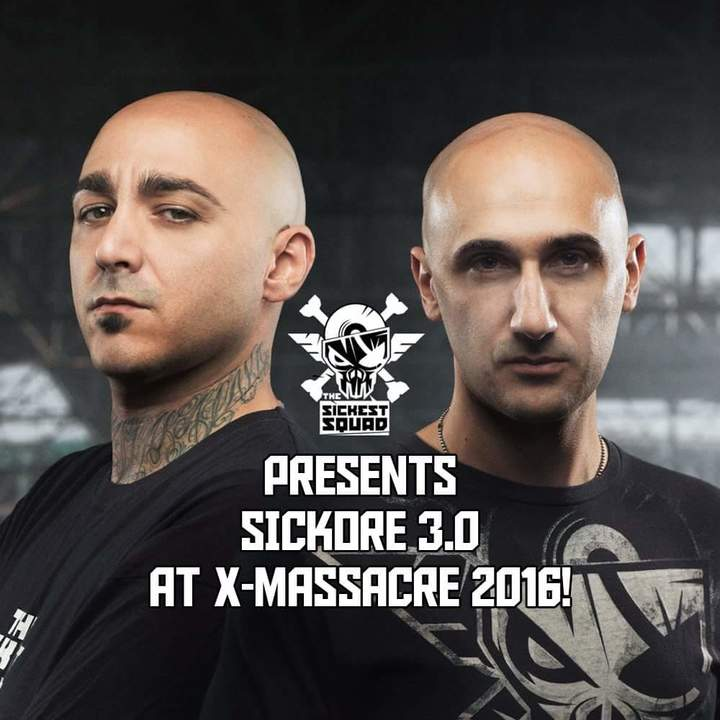 The Sickest Squad @ X-Massacre 2016 - Prague, Czech Republic