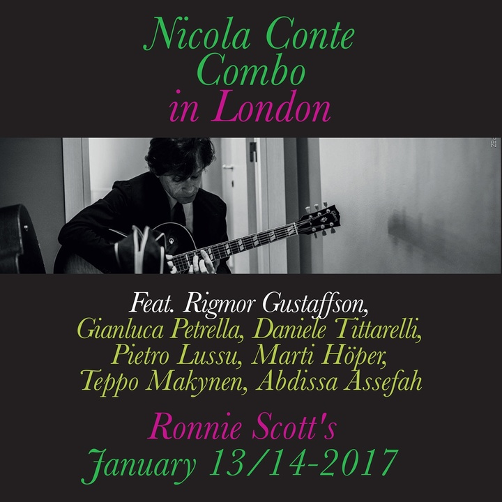 Nicola Conte @ Ronnie Scott's - London, United Kingdom
