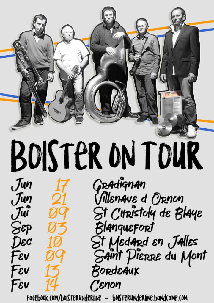 Bolster Underline @ Marché de Noël - St.-Médard-En-Jalles, France