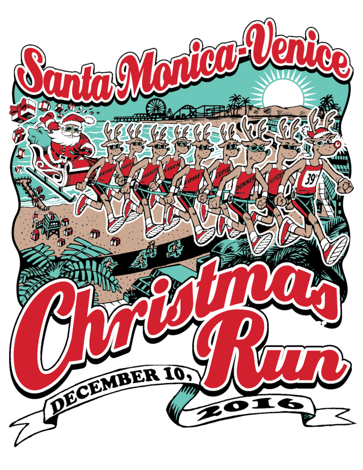 The McCrary Foundation @ Santa Monica-Venice Christmas Run - Santa Monica, CA