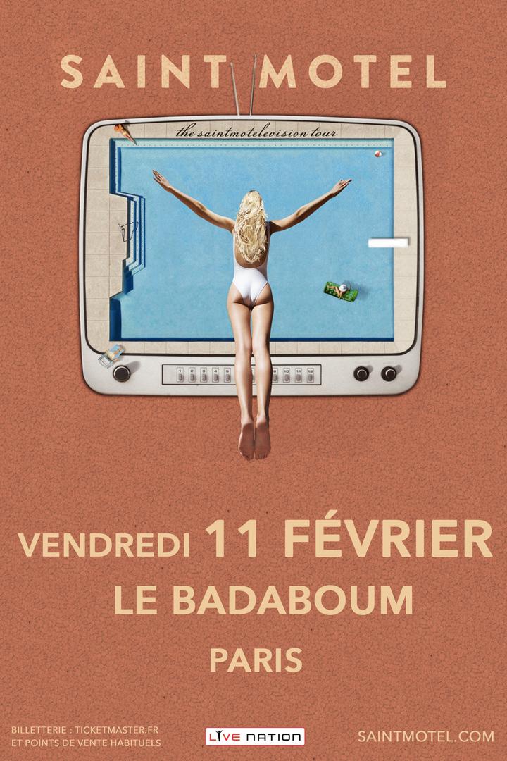 Saint Motel @ LE BADABOUM - Paris, France