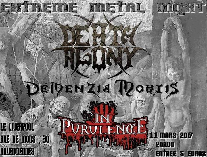 DEATH AGONY @ The Liverpool - Valenciennes, France