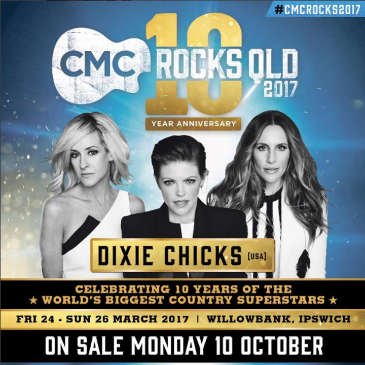 Dixie Chicks @ Willowbank Raceway - Willowbank, Australia
