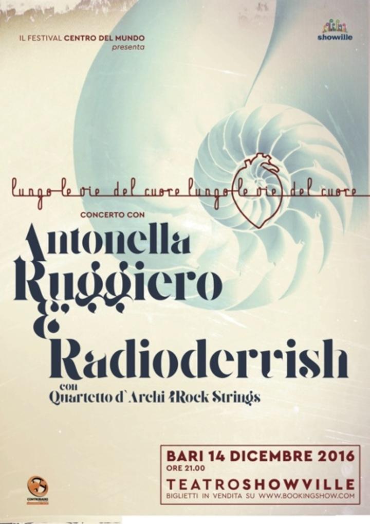 Antonella Ruggiero @ Teatro Showville - Bari, Italy