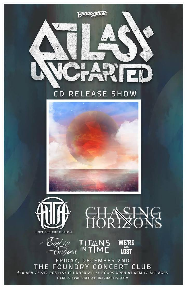 Atlas Uncharted @ The Foundry - Lakewood, OH