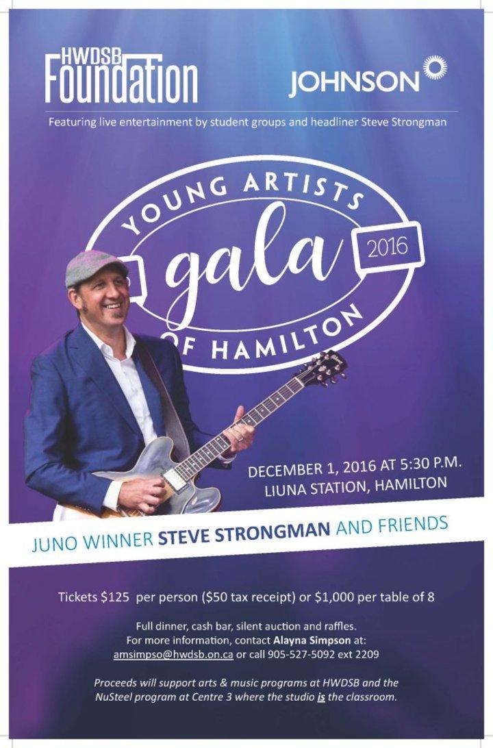 Steve Strongman Music @ Liuna Station - Hamilton, ON