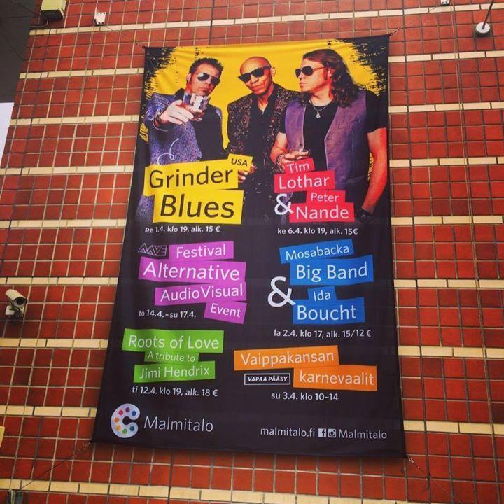 Grinder Blues Tour Dates
