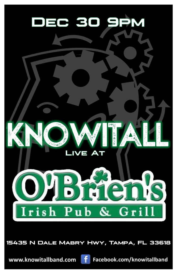 KnowItAll @ O'Brien's Irish Pub - Tampa, FL
