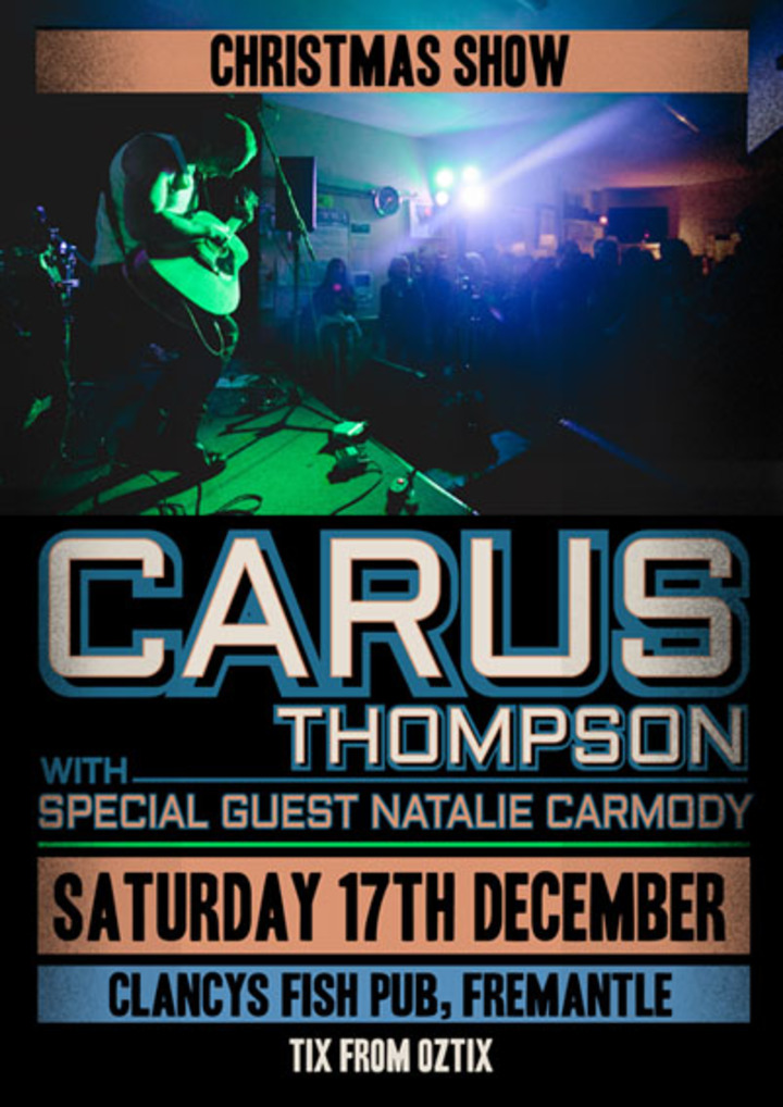Carus @ Clancys Fish Pub  - Fremantle, Australia