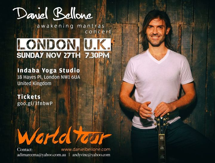 Daniel Bellone @ Indaba Yoga - London, United Kingdom