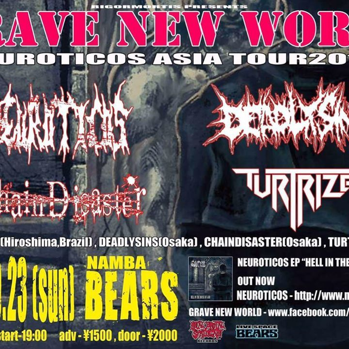 Grave New World Tour Dates
