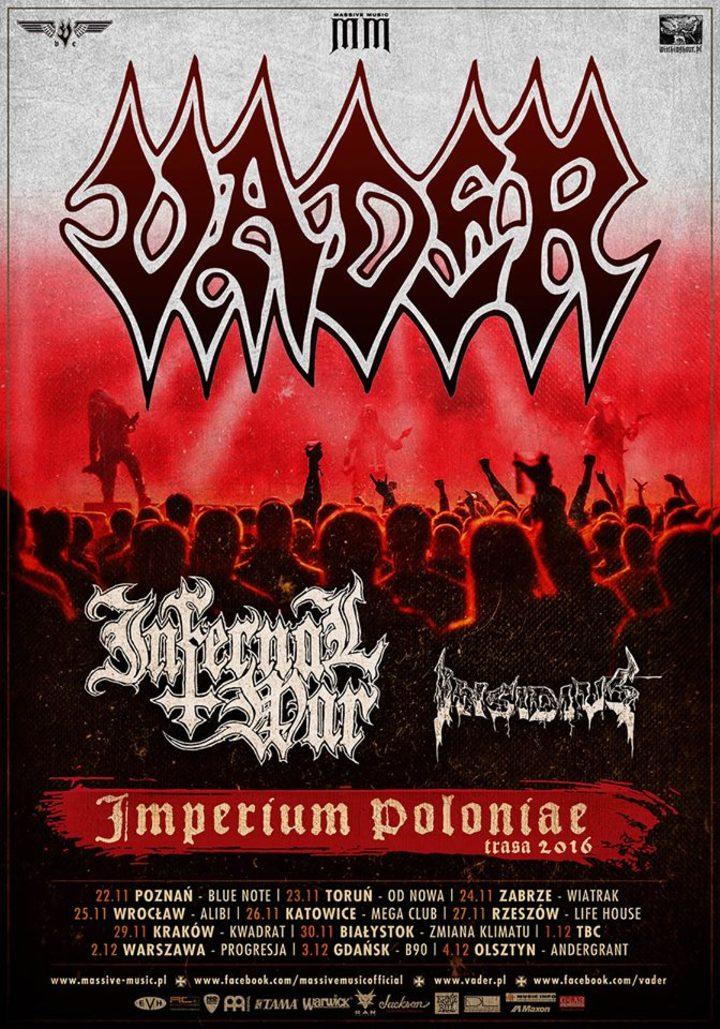Infernal War @ Kwadrat - Kraków, Poland
