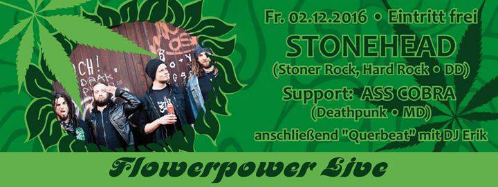 Stonehead @ FlowerPower - Magdeburg, Germany