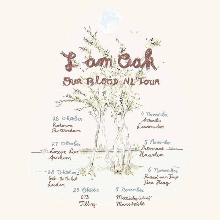 I am Oak Tour Dates