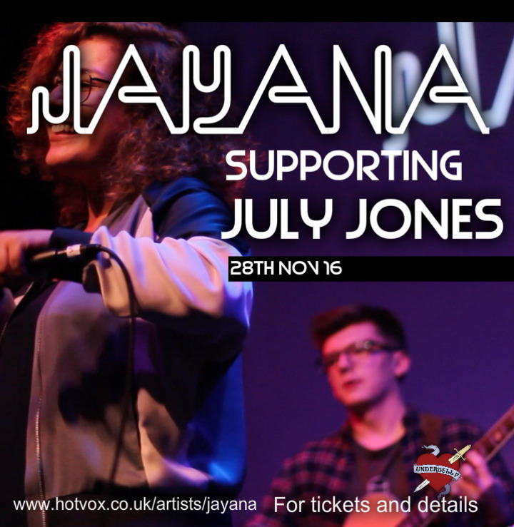 Jayana @ Underbelly Hoxton Square - London, United Kingdom