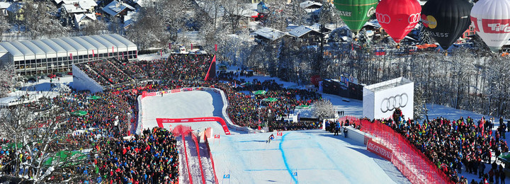 Maximum Events @ Hahnenkamm - Kitzbuhel, Austria