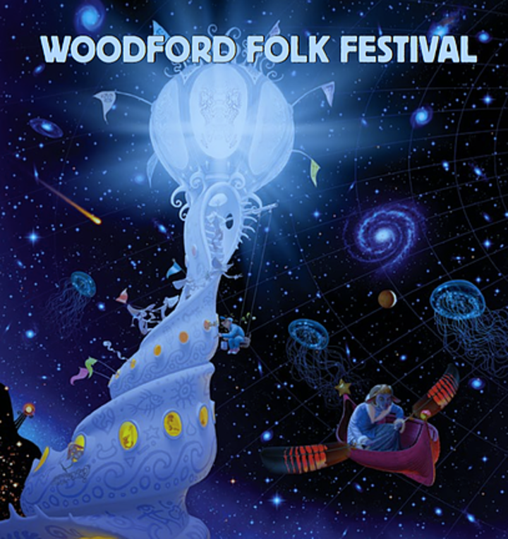 Half Moon Run @ Woodford Folk Festival - Woodford, Australia