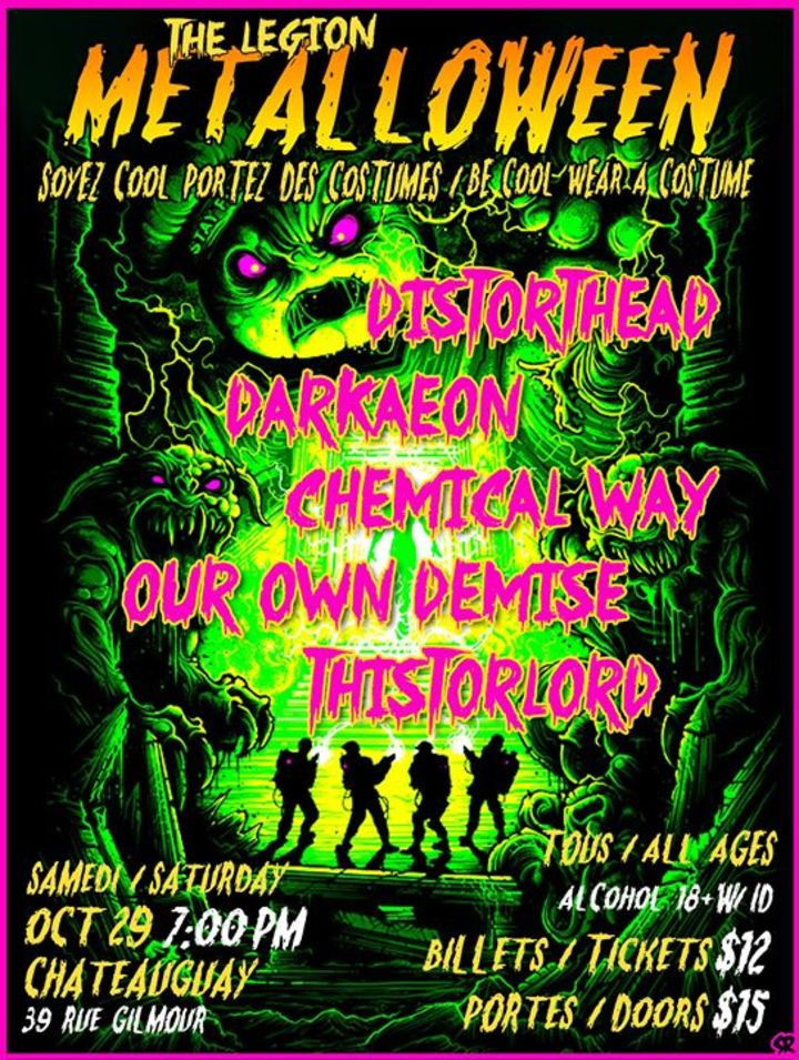 Chemical Way Tour Dates