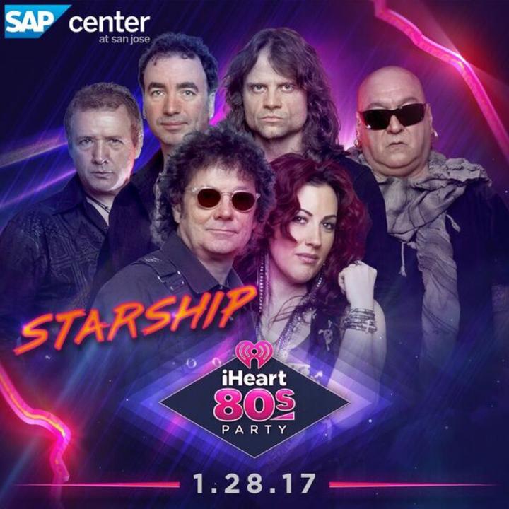 Starship featuring Mickey Thomas @ SAP Center - San Jose, CA