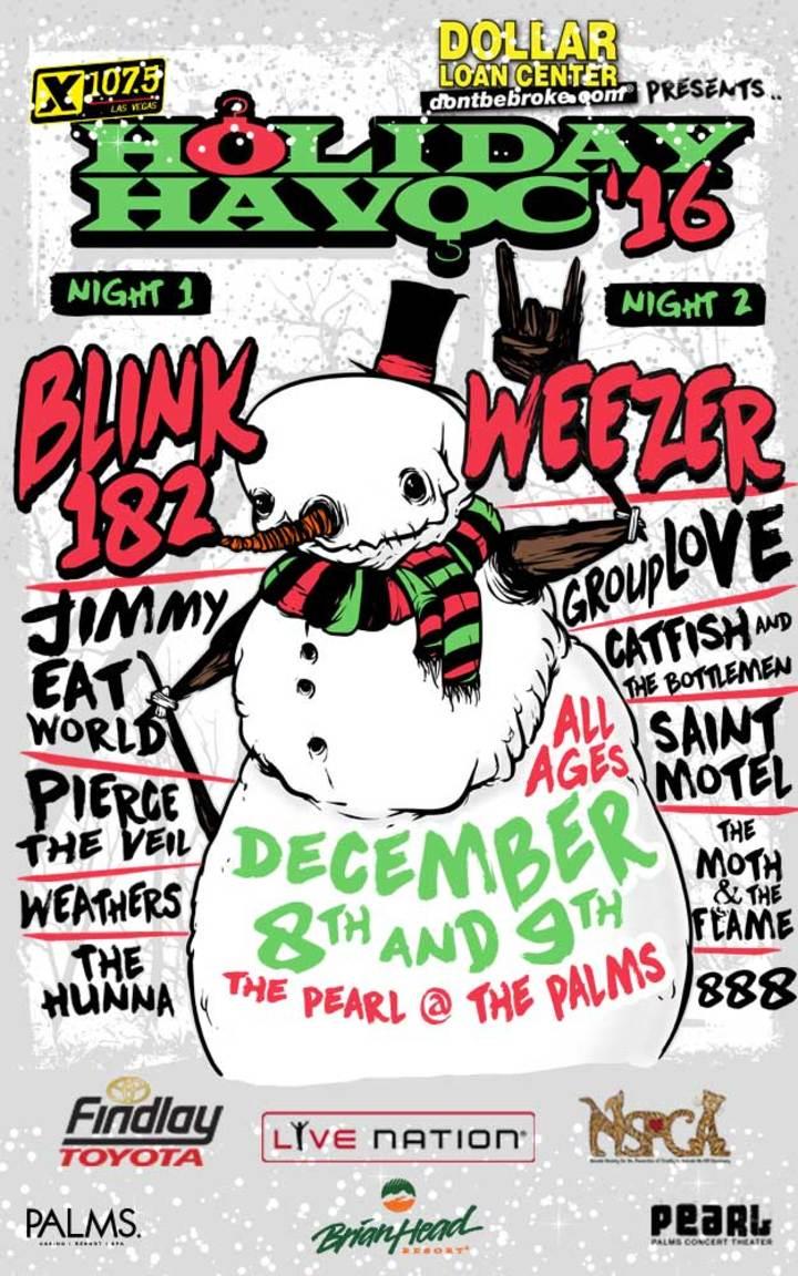 Saint Motel @ Pearl Concert Theater at Palms Casino Resort - Las Vegas, NV